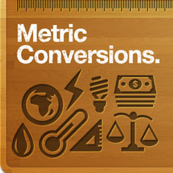 Metric Conversion charts and calculators